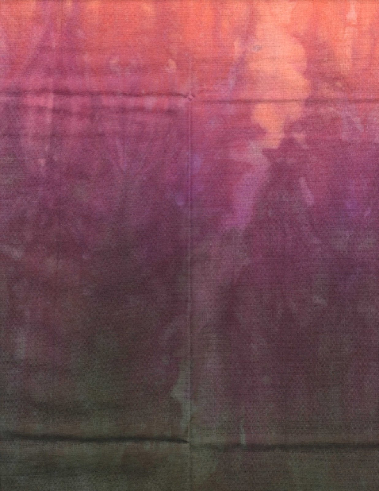 Thistles Hand-Dyed Organdy FQ