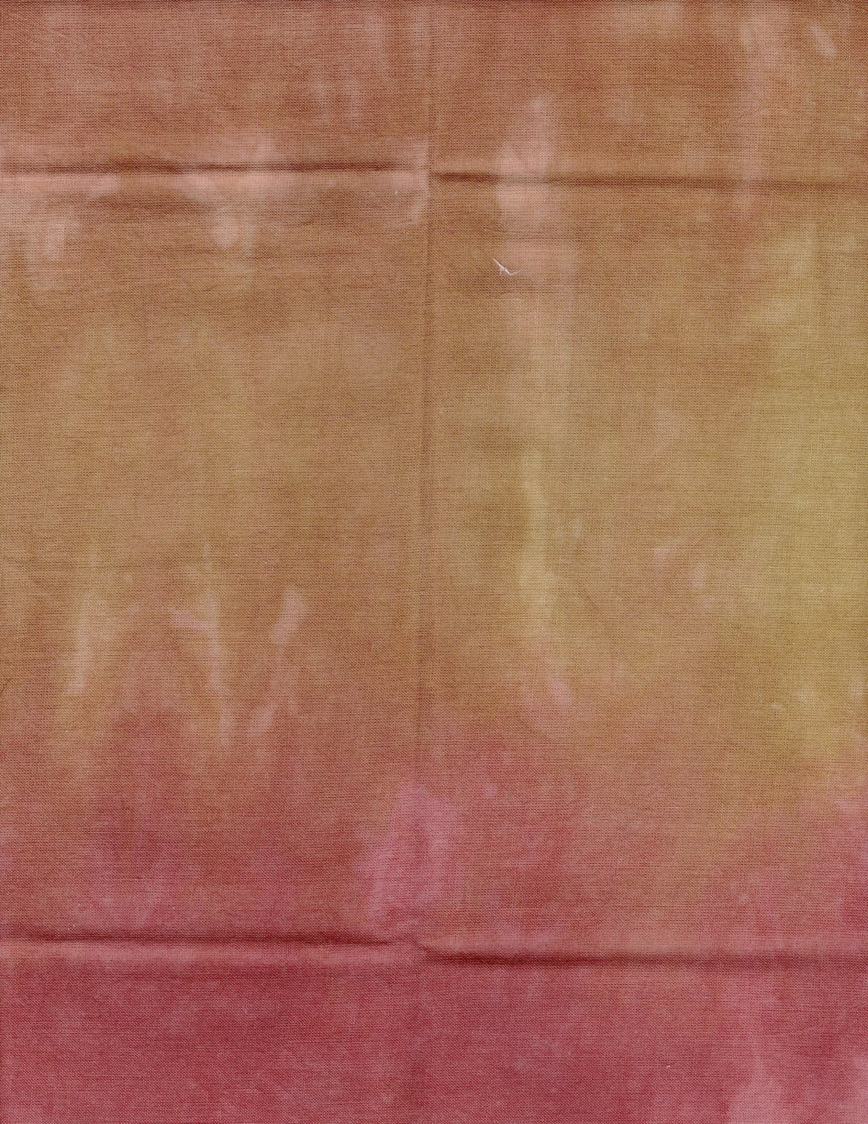 Tuscan Sunset Hand-Dyed Organdy FQ