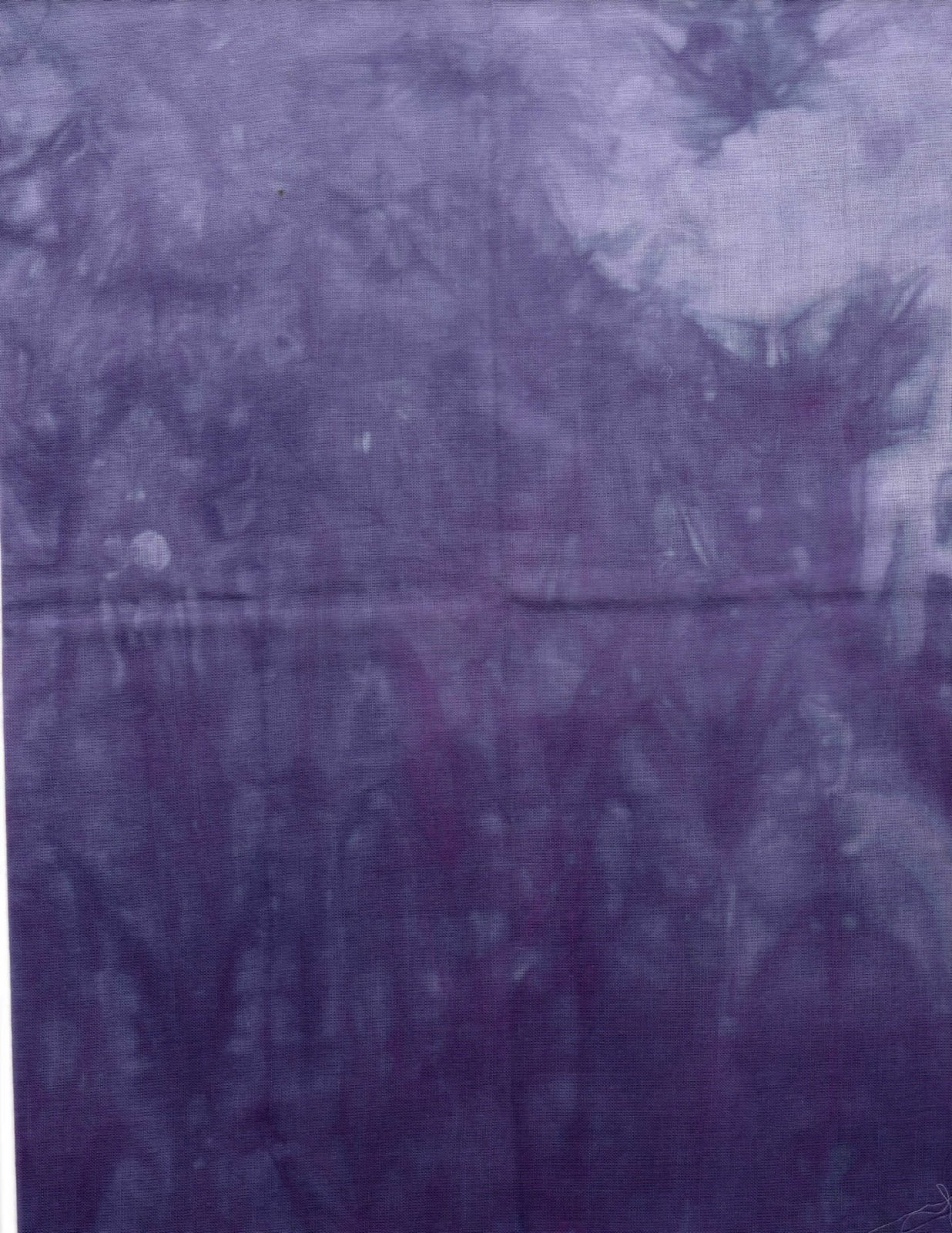 Visions of Plum Hand-Dyed Organdy FQ
