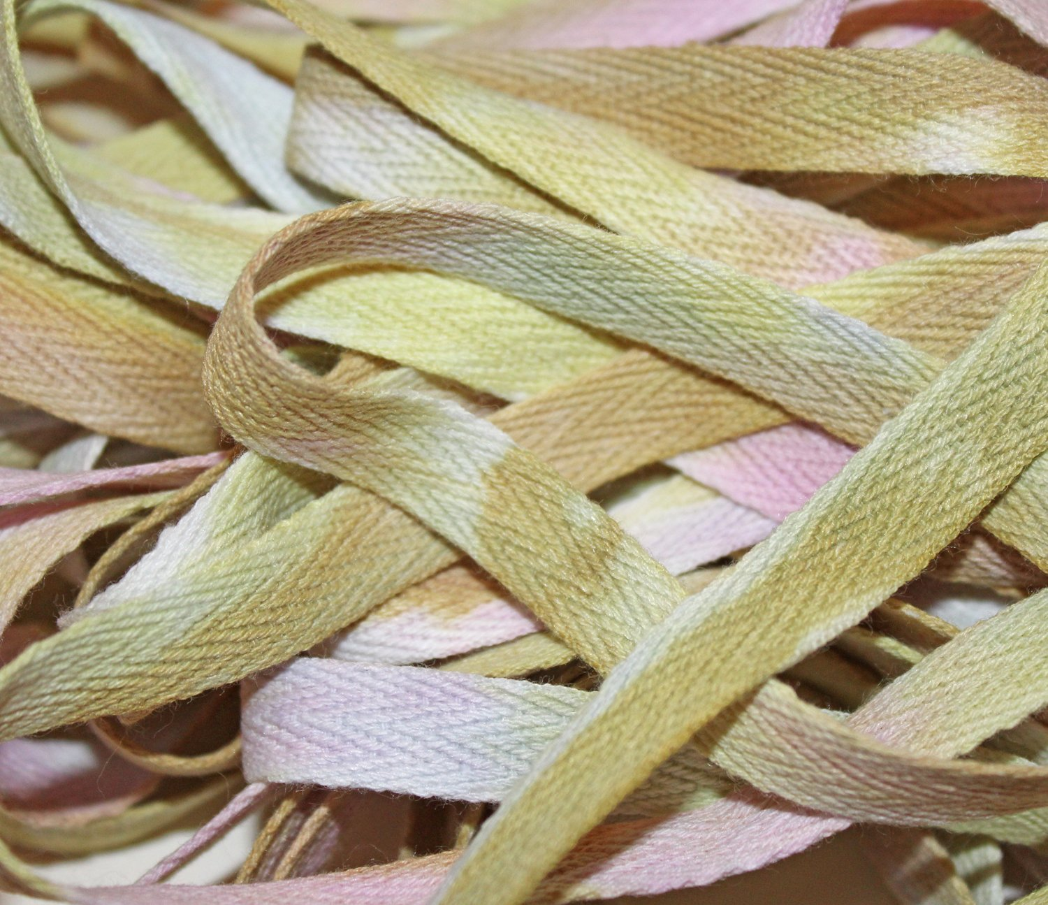 Wisteria- Hand-dyed Cotton Twill Tape 3/8 wide