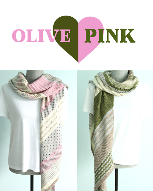 Casapinka Olive Pink- Just Bee Fiber Yarn