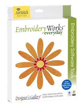 EmbroideryWorks Everyday with Airstitch