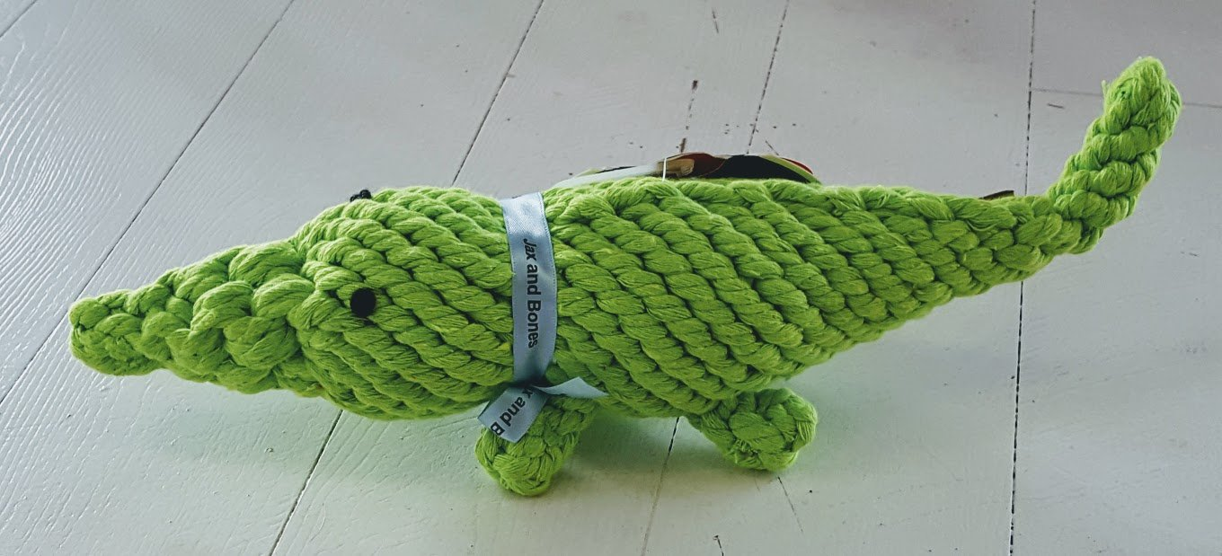 Crocodile Rope Toy