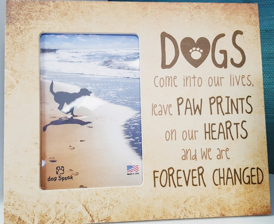 Dogs Come Into Our Lives 95 X 8 Frame