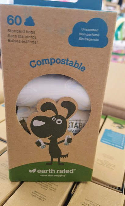 Earth Rated Compostable Dog Waste Bags