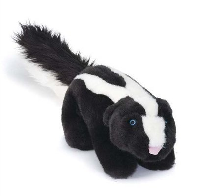 Lucy Skunk Dog Toy