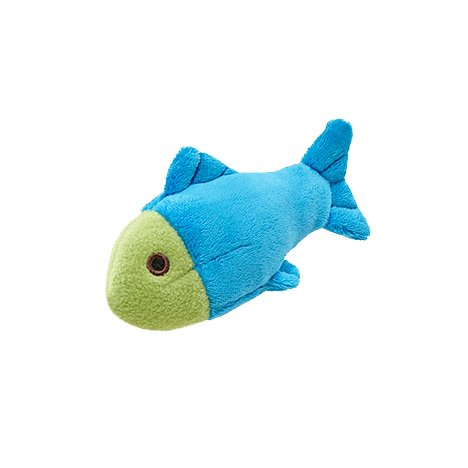 Molly Fish Plush Dog Toy