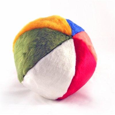 Plush Beach Ball Dog Toy