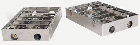 Partner Steel 4 Burner 16 or 18  Stove w/Break-Apart Hinge