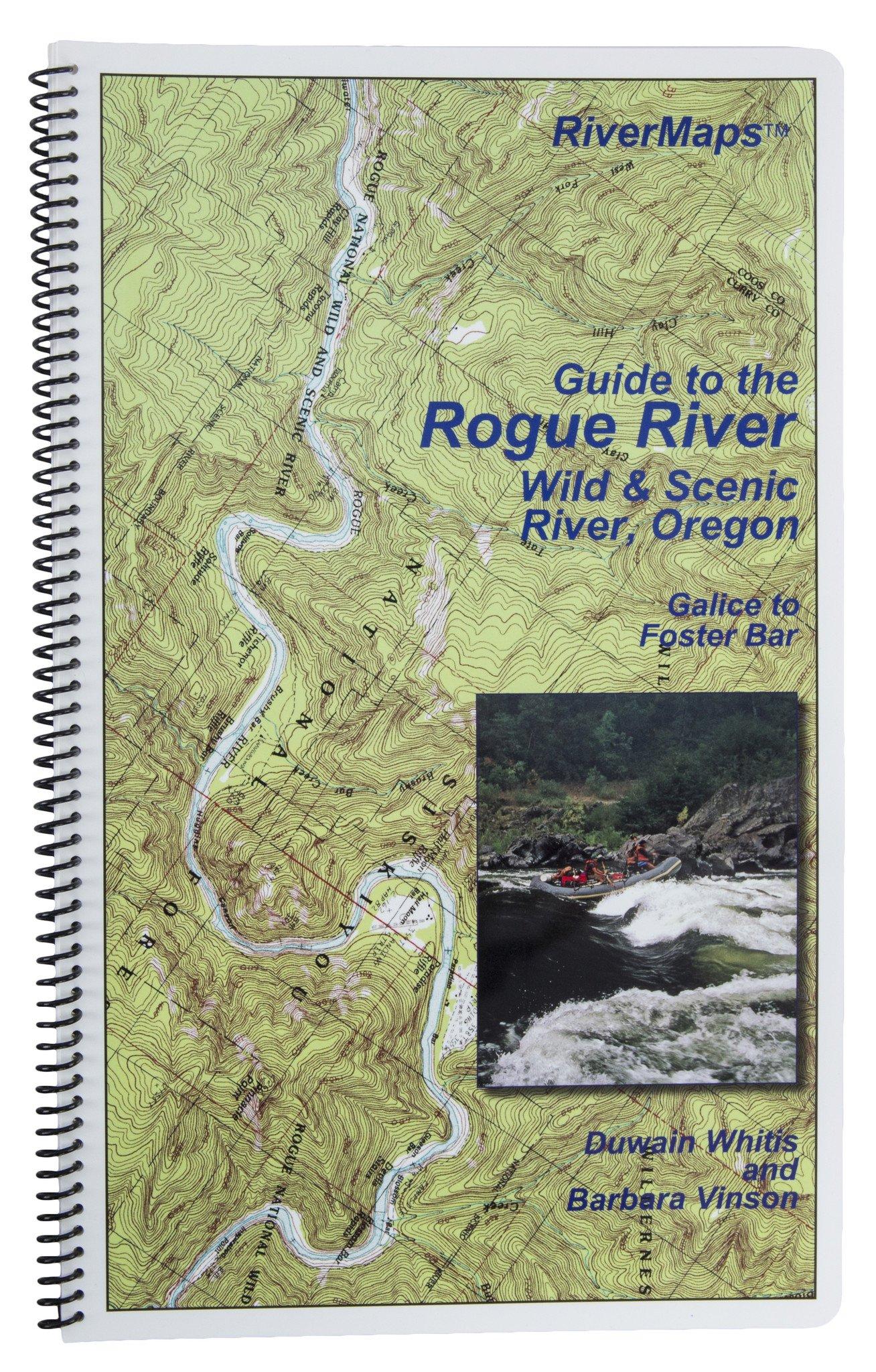 RiverMaps - Guide to the Rogue River Wild & Scenic River, Oregon Second Edition