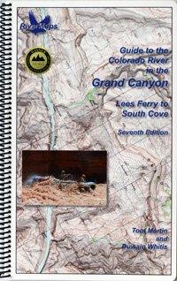 RiverMaps Colorado River in the Grand Canyon 7th Ed. Guide Book