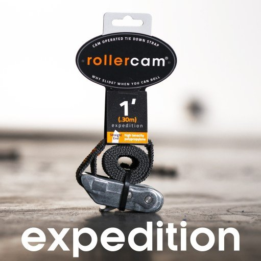 Rollercam Expedition Gray/Orange Cam Straps