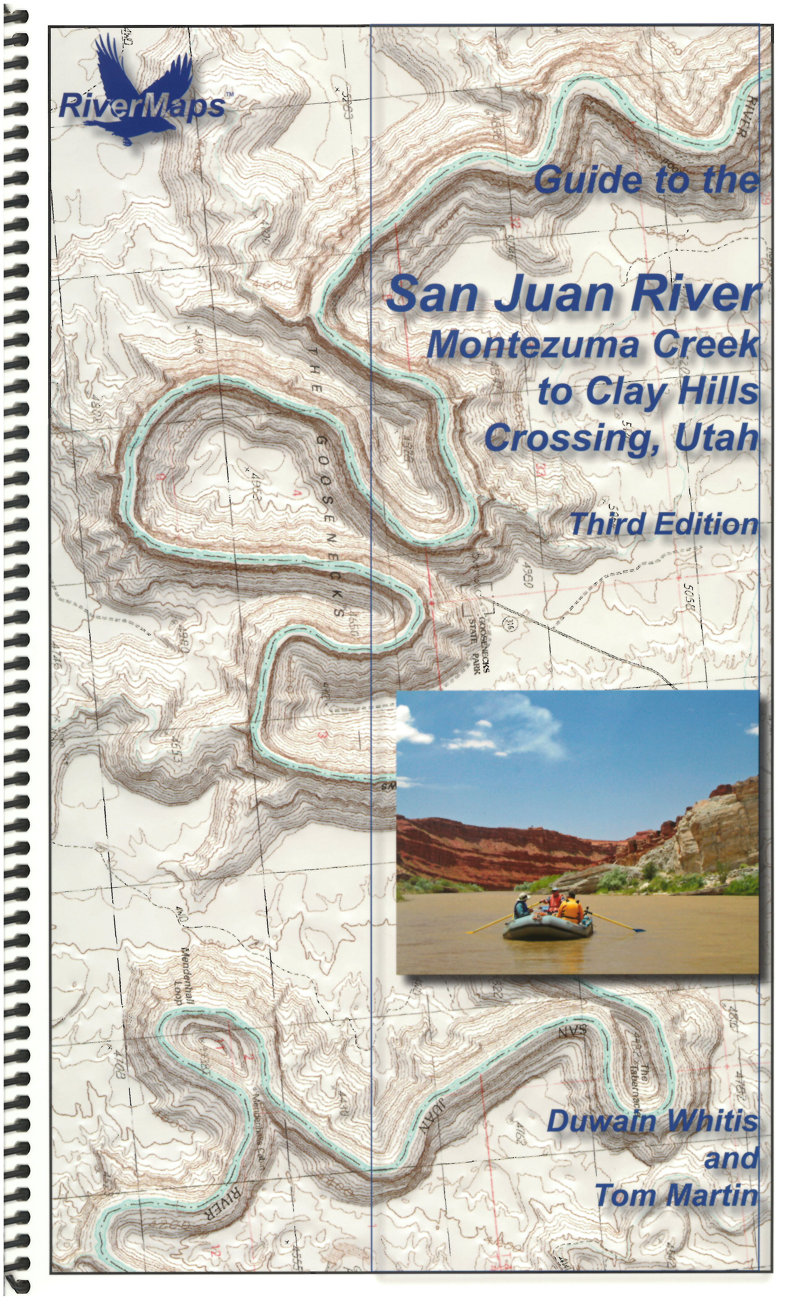 RiverMaps San Juan River 3rd Edition Guide Book