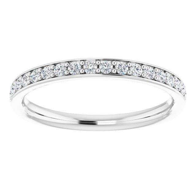 14K-W Lab Grown Diamonds Band