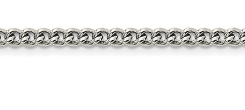 Stainless Steel Round Curb Chain