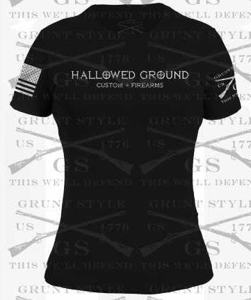 HALLOWED GROUND WOMENS SHIRT