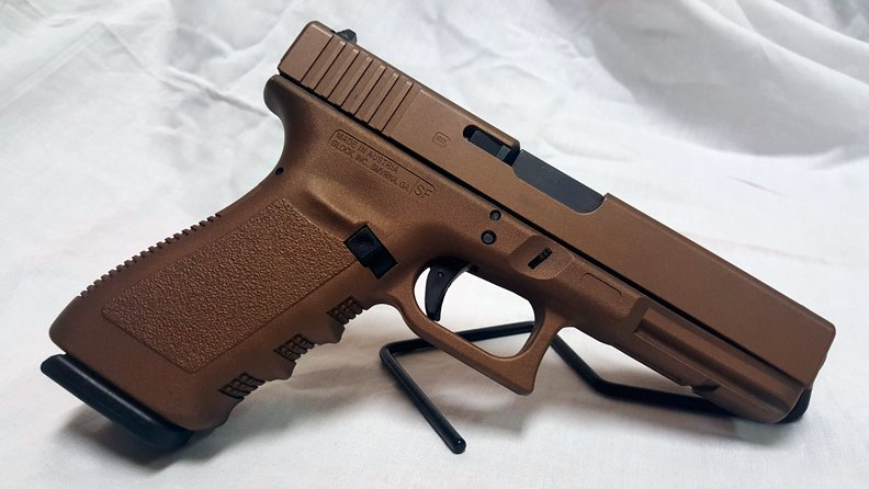 Used) Glock 20 Cerakoted