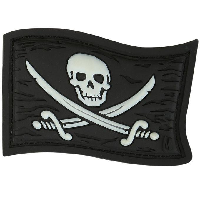 JOLLY ROGER PATCH (GLOW)