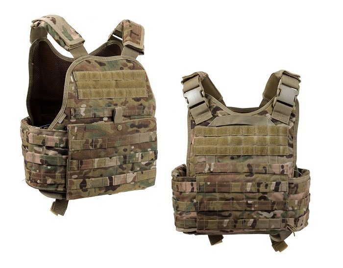 ROTHCO PLATE CARRIER COMPLETE LOADOUT MULTICAM