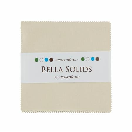 Bella Solids Charm Pack Natural