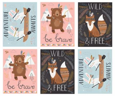 8 - Wild & Free Panel