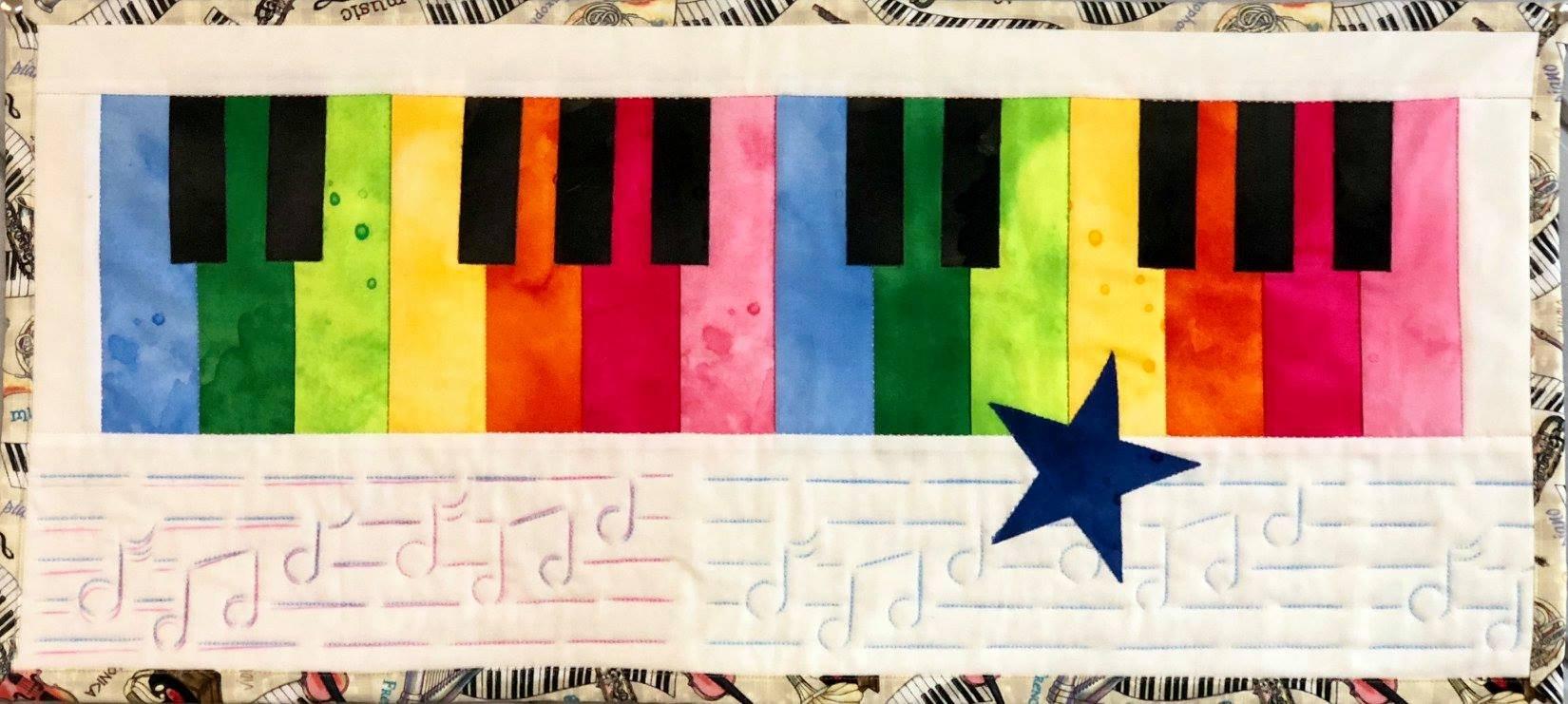 Row by Row Jr Kit - Piano