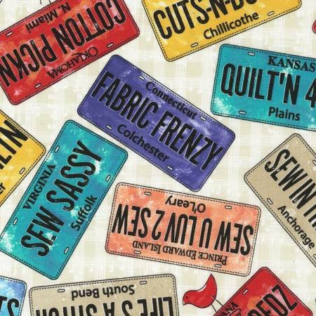 Foam License Plates