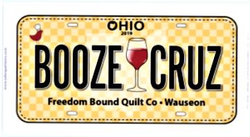 2019 Booze Cruz License Plate