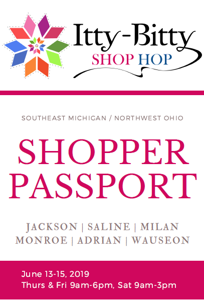Itty Bitty Shop Hop Passport