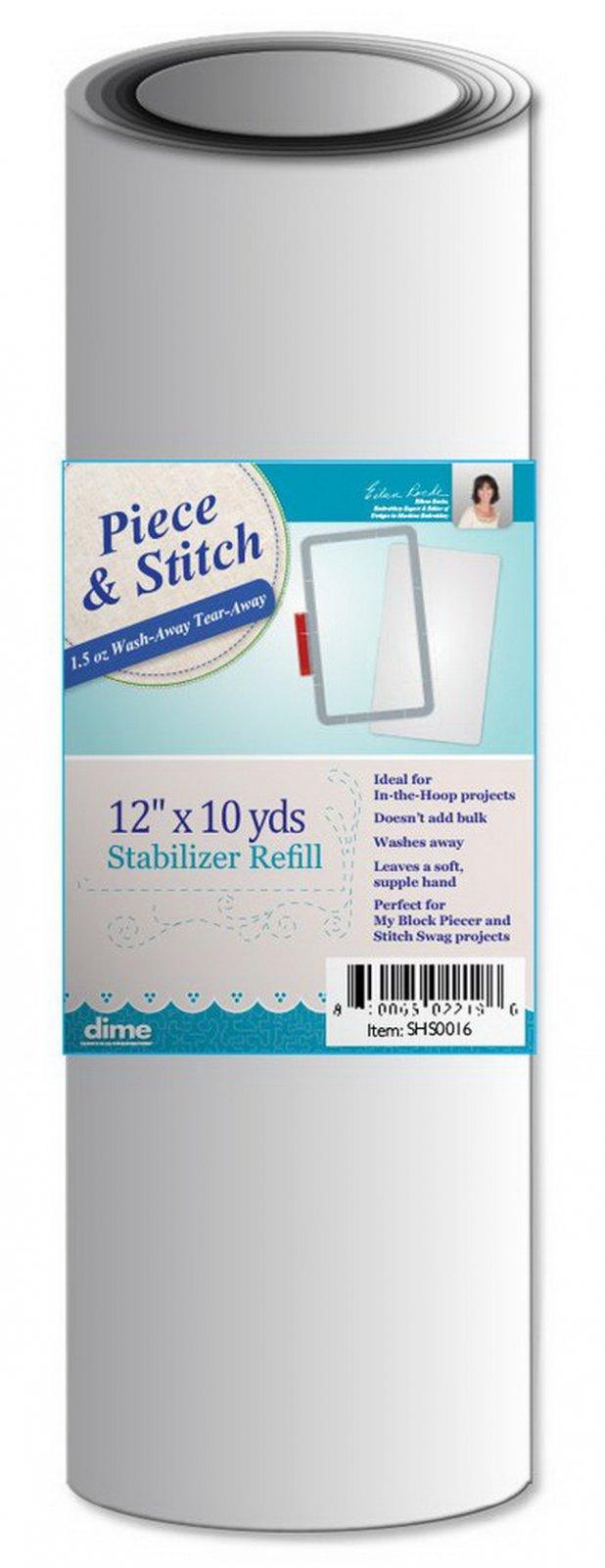 DIME Piece & Stitch Stabilizer 12X10