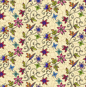 Quilting Treasures Bee Boppin Floral Fabric by Embellish Express