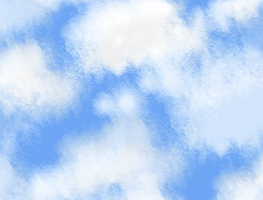 Quilting Treasures Bee Boppin Clouds Fabric by Embellish Express
