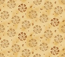 Quilting Treasures Bee Boppin Pinwheel Floral Fabric by Embellish Express