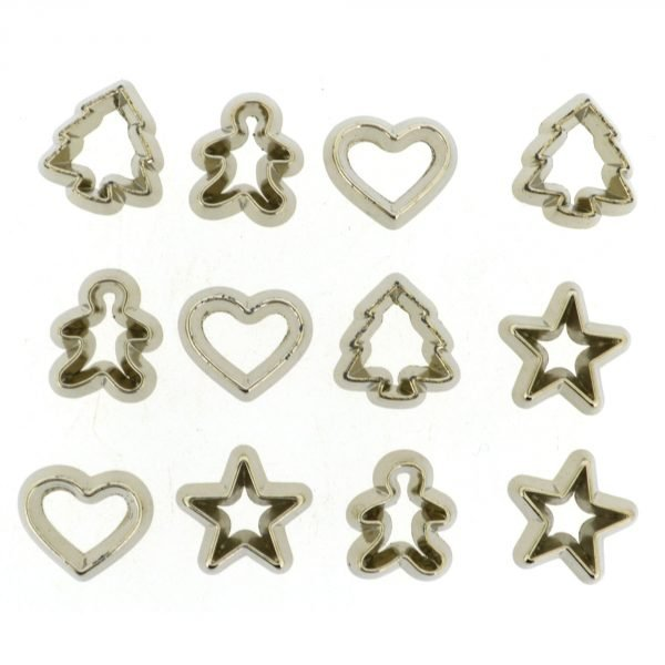 Dress It Up Mini Cookie Cutters Buttons