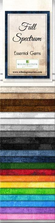 Wilmington Prints Essentials Gems Full Spectrum Fabric Strips