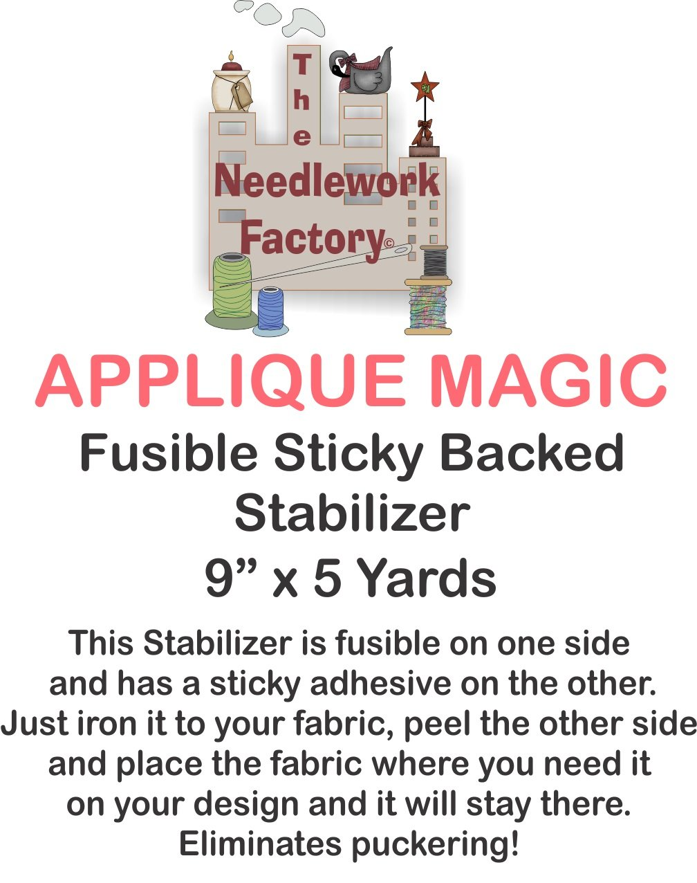 The Needlework Factory Applique Magic