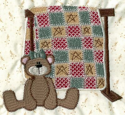 Quilted Country Machine Embroidery CD