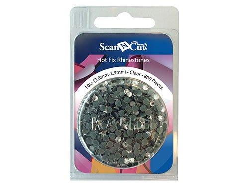 Scan N Cut Rhinestones 10ss Clear