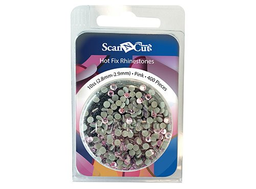 Scan N Cut Rhinestones 10ss Pink