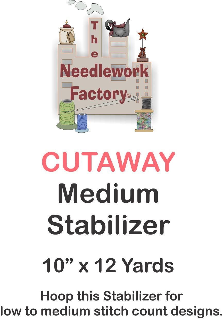 The Needlework Factory Cutaway Stabilizer