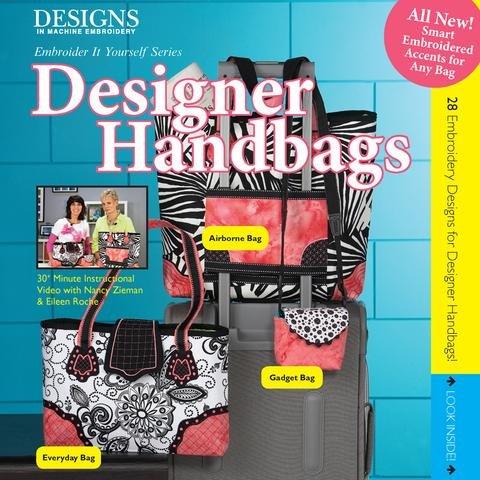 DIME Designer Handbag Book & Embroidery CD