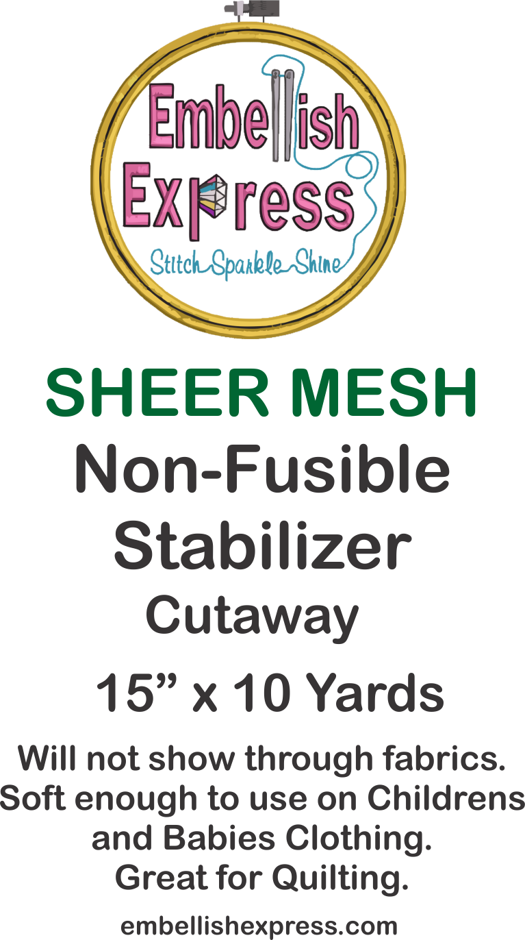 Embellish Express Sheer Mesh Stabilizer