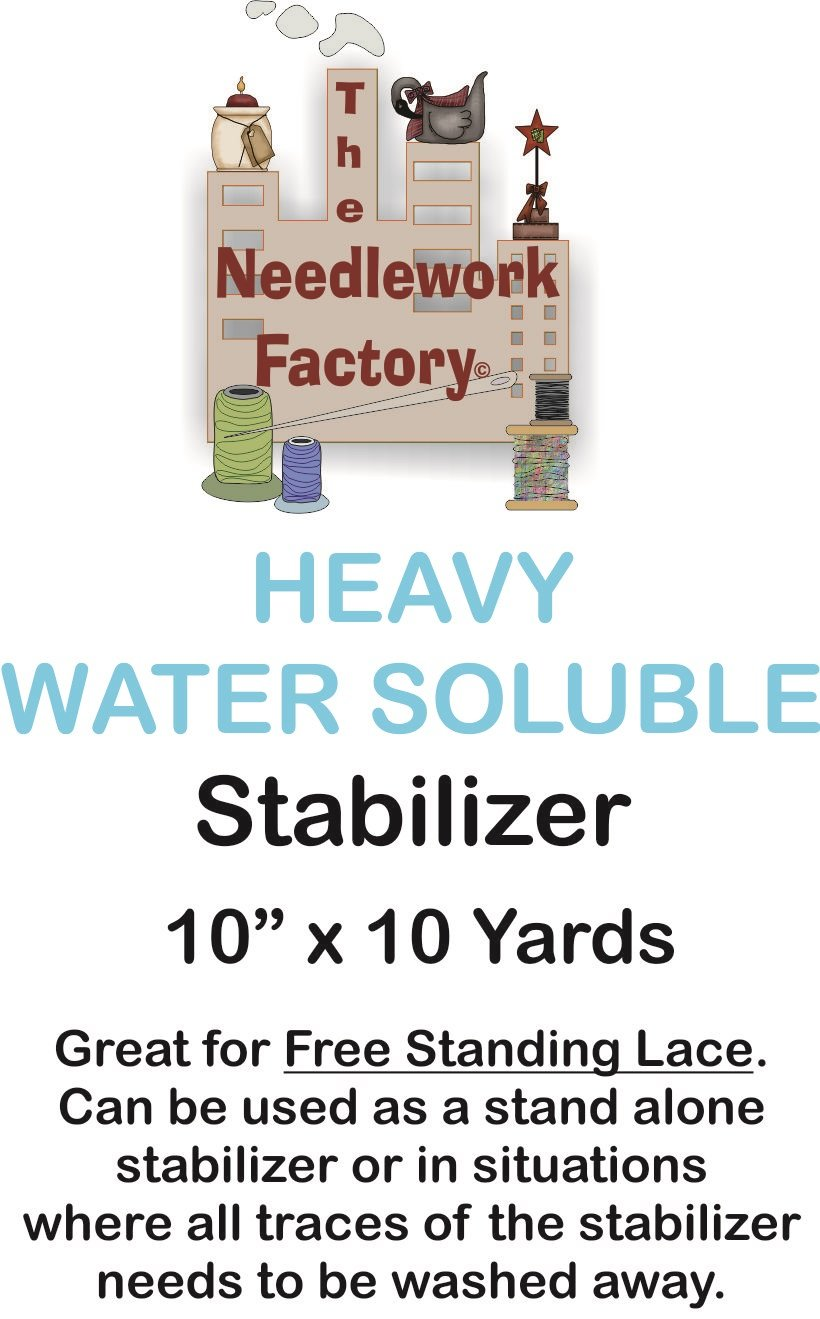 The Needlework Factory Heavy Water Soluble Stabilizer