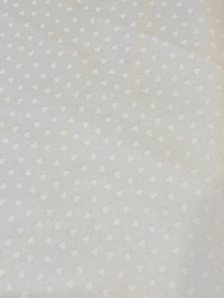 Maywood Studio Solitaire Whites Heart Fabric