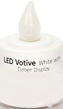 LED Votive Candle with Timer