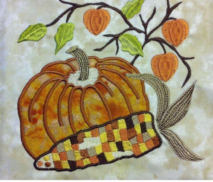 Four Seasons Machine Embroidery CD by Marinda Stewart