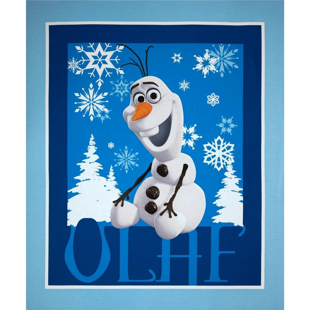 Disney Frozen Olaf Fabric Panel