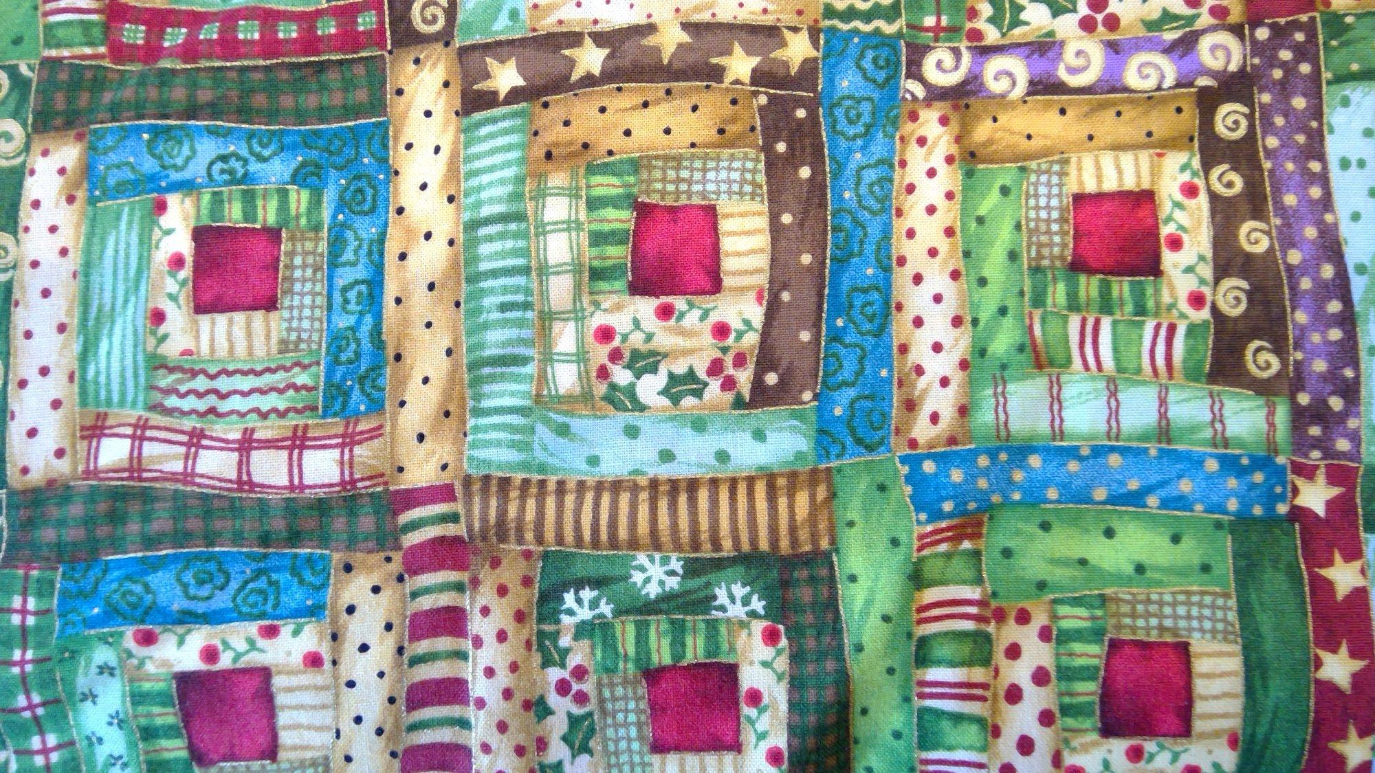 SPX Fabrics Santa's Journey