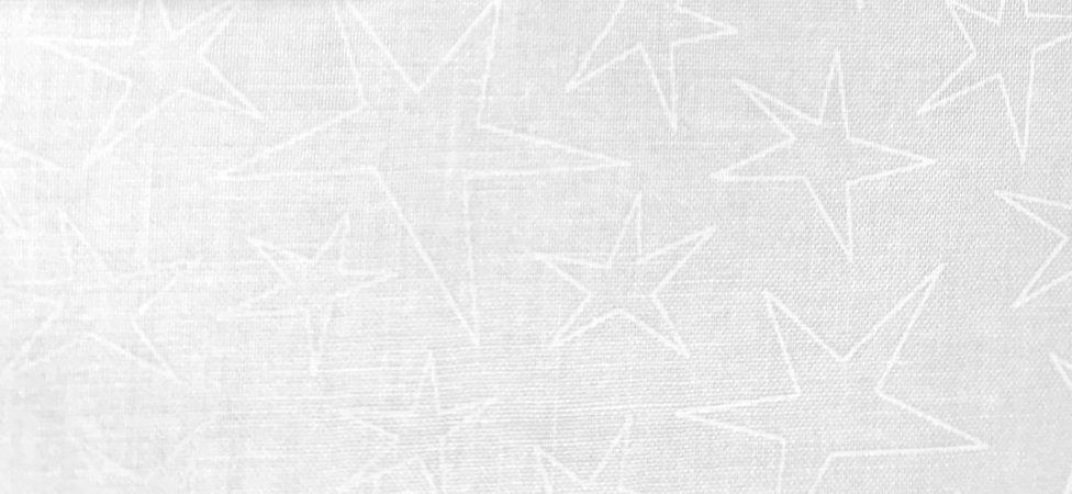 Maywood Studio Solitaire Whites Star Fabric