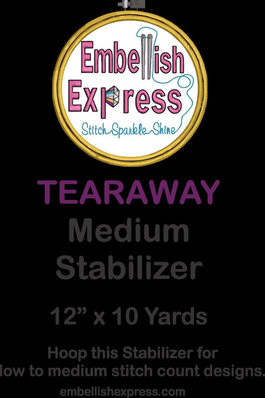 Embellish Express Medium Tearaway Stabilizer